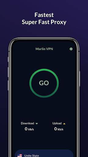 Super Fast VPN - Unlimited Free, Secure VPN Proxy screenshots 1