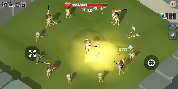 Zombie killer Deadland cowboy 1.5.6 MOD + APK + DATA Download 2
