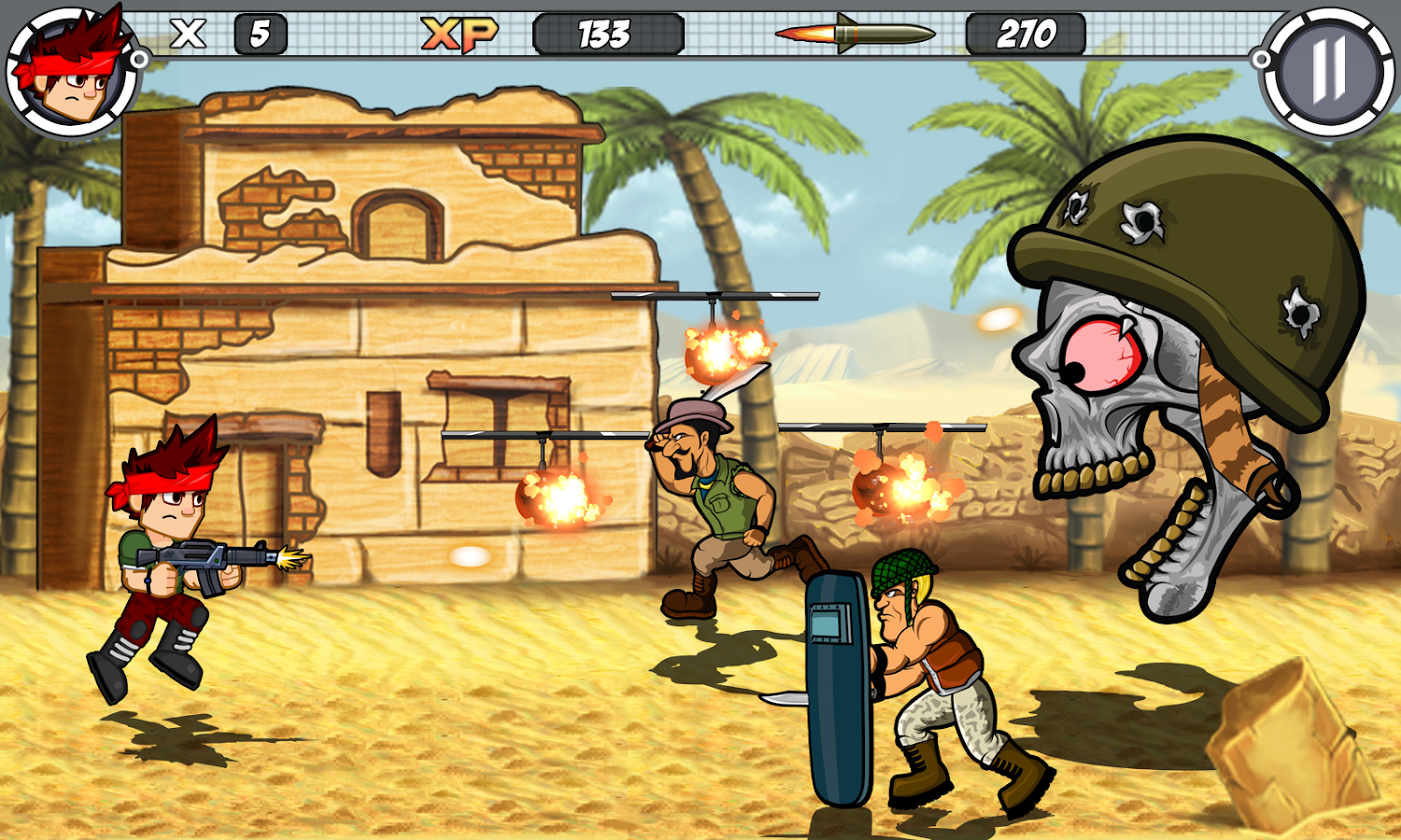 alpha guns shooter metal soldier killer gun game android apps