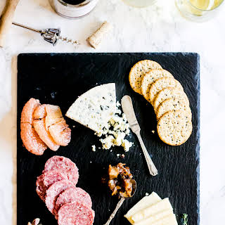 How to Build a Valentine's Day Cheeseboard.