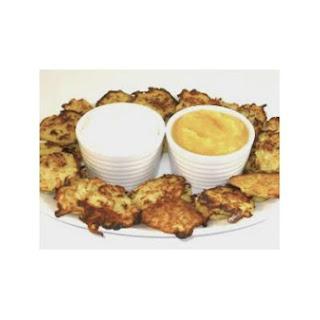 Skinny Mini Passover Potato Pancakes Appetizer