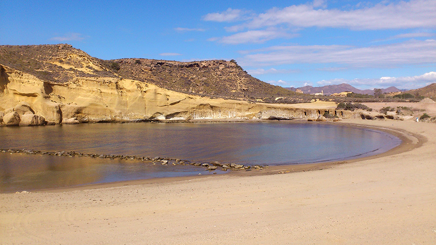 Pulpí, playa de San Juan de los Terreros.
