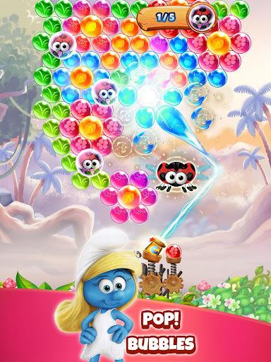 Smurfs Bubble Shooter Story apkdebit screenshots 6