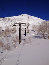 Photo: Single seat chairlift