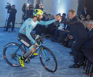 Wielerploeg Astana heeft nieuwe naam: nu nog duidelijker welk land formatie van Vinokourov vertegenwoordigt