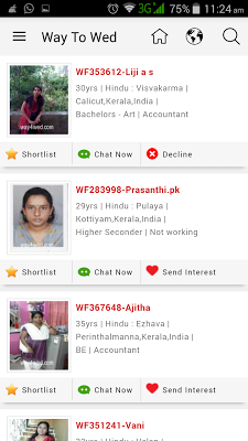WaytoWed - Matrimonial Website - screenshot