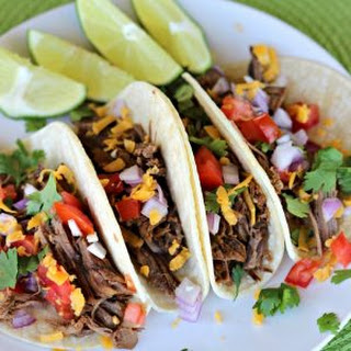 Gluten Free Crock Pot Mexican Shredded Beef Taco Recipe