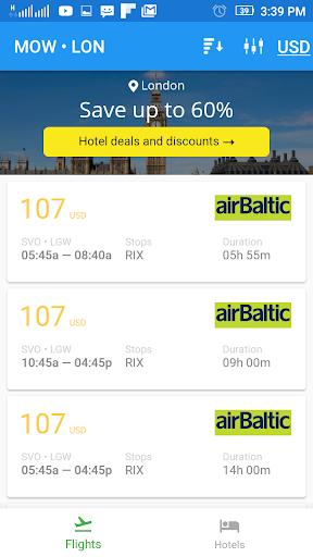 Flightzy - cheap flights & hotels search 4.1.1 screenshots 2
