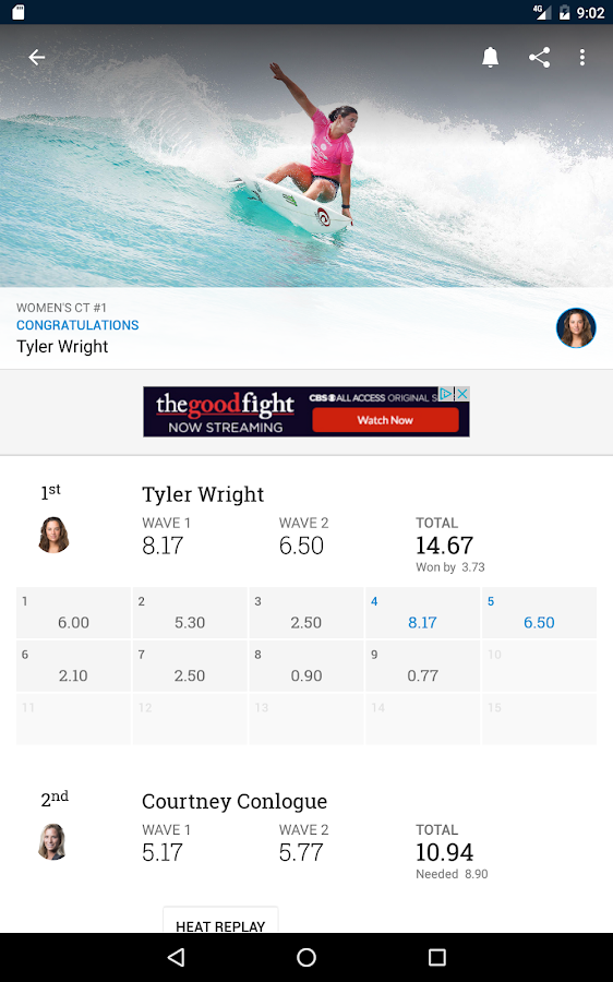 World Surf League- screenshot