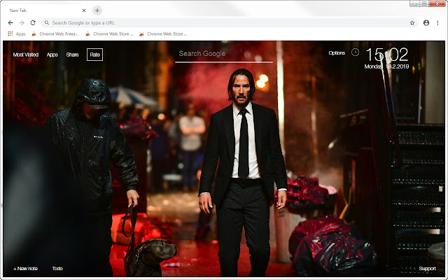 John Wick Chapter 3 HD Wallpapers New Tab
