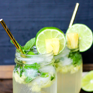 Pineapple Mojitos (with Simple Syrup recipe).