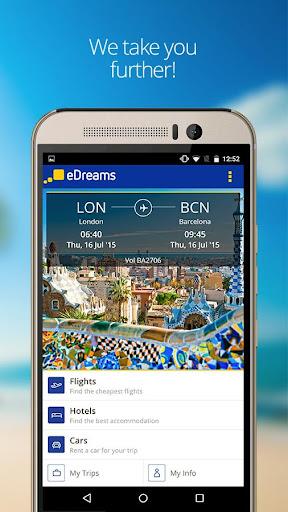 eDreams-Flights Hotels Cars