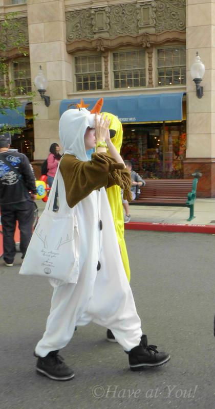 cosplay Olaf