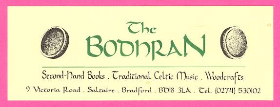 Photo: Bodhran