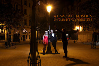 Photo: AT WORK WITH ACTORS in Paris, France, 2012. © photography by jean-marie babonneau all rights reserved http://www.betterworldinc.org  models : ornella & edouard.