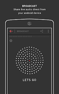 Mixlr - Broadcast Live Audio Screenshot