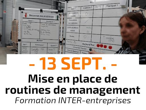 Mise en place de routines de management Formation Inter-entreprises