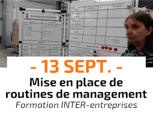 Mise en place de routines de management Formation Inter-entreprises
