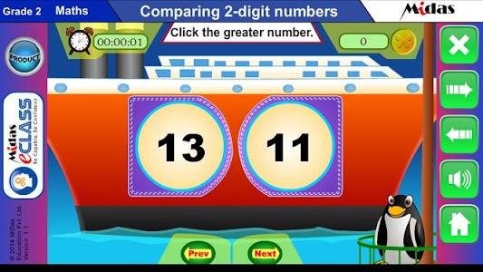 MiDas eCLASS Maths 2 Demo screenshot 5