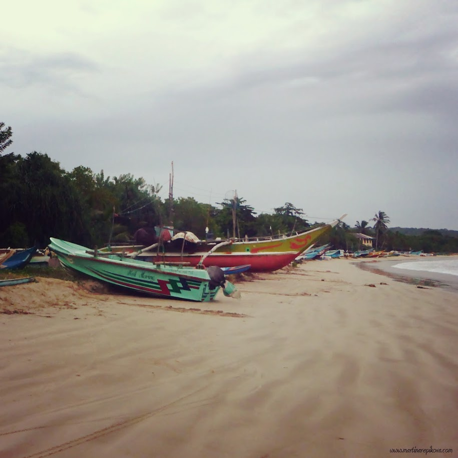 Fishing boats, Sri Lanka