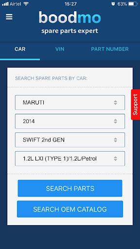boodmo - Spare Parts for CARS in India 4.13.1 screenshots 1