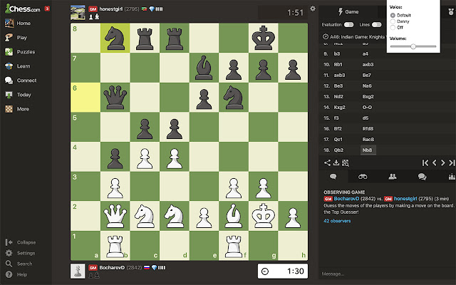 Chess.com Voice Commentary