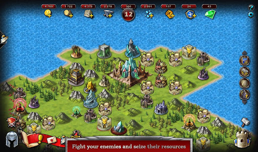 Télécharger Emporea: Real-time Multiplayer War Strategy Game APK MOD (Astuce) screenshots 4