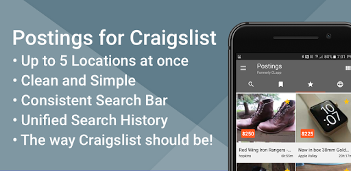 Postings (Craigslist Search App) - Apps on Google Play