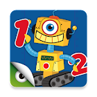 Robots & Numbers, math games icon
