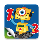 Robots & Numbers, math games