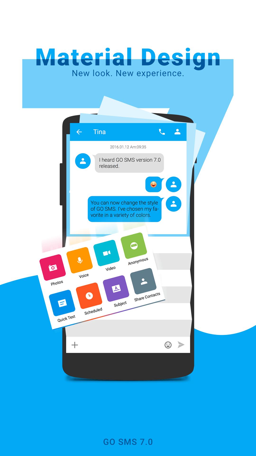 GO SMS Pro screenshot #2