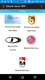 Klizacki Savez FBIH- screenshot thumbnail