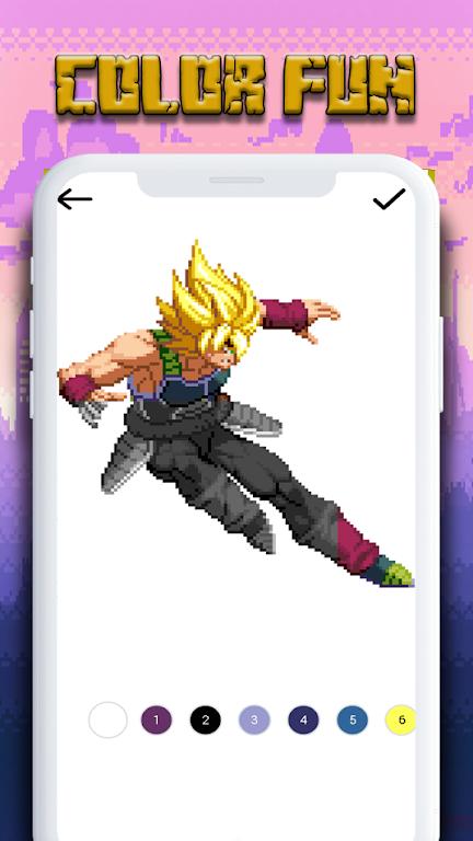 Download Coloring By Number Dbz Super Pixel Art Apk Latest