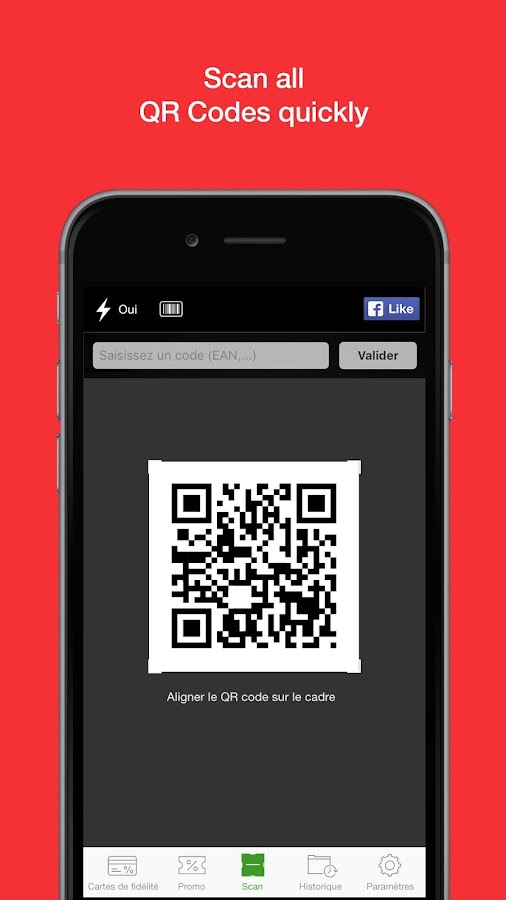 QR Code and Barcode scanner- screenshot