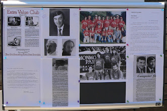 Photo: Display posters from days of yore