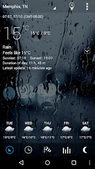 Sense Flip Clock and Weather Pro