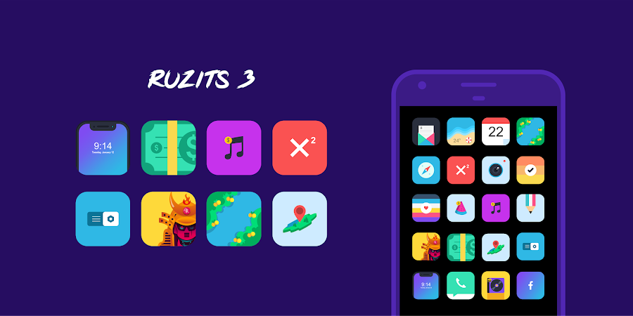 Ruzits 3 Icon Pack v1.21 [Patched]