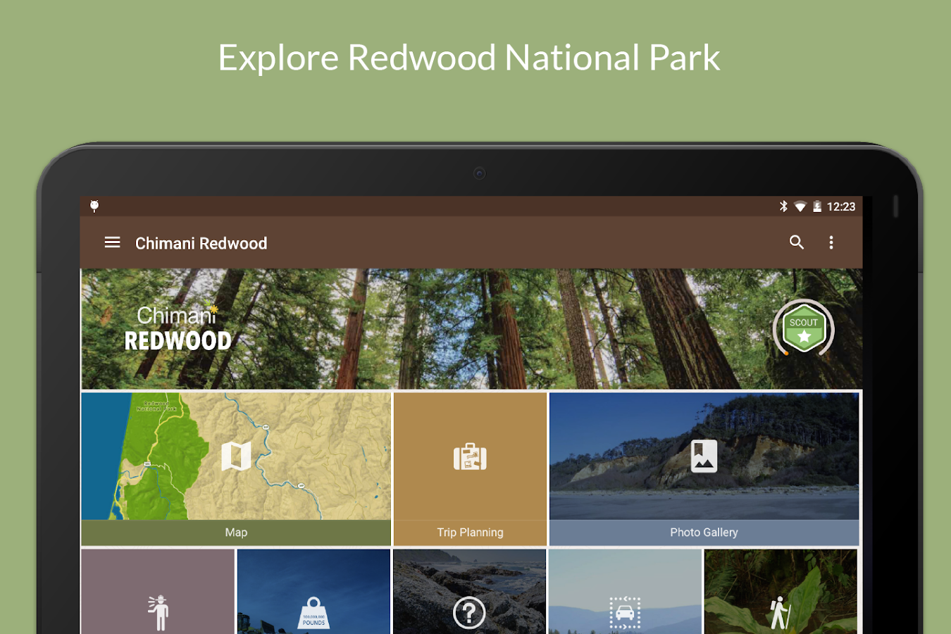 Redwood Nat'l Park by Chimani- screenshot
