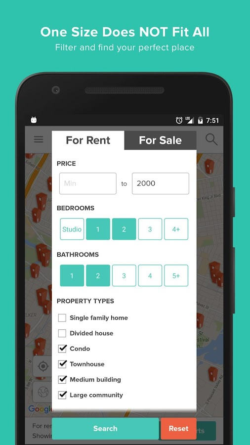 HotPads Apartments & Rentals- screenshot