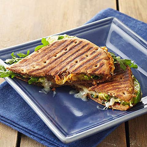 Turkey Hummus Sandwiches With Black Pepper Honey Recipes — Dishmaps