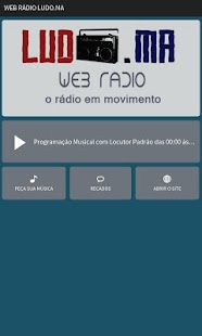 Web Rádio Ludo.MA- screenshot thumbnail