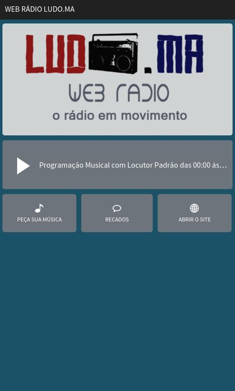 Web Rádio Ludo.MA- screenshot