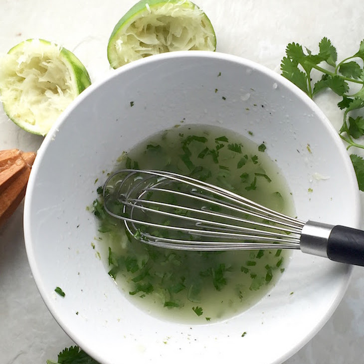 Garlic Lime Vinaigrette Recipe