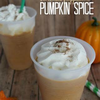 Pumpkin Spice Starbucks Frappuccino Recipe!