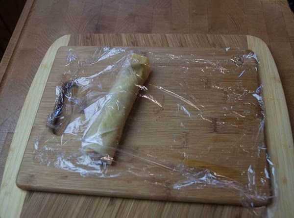 Cover with a piece of cling wrap, or a clean dishtowel (so it won't...