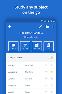 Quizlet Flashcards & Learning Screenshot 1