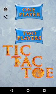 Tic Tac Toe Ice And Fire - náhled