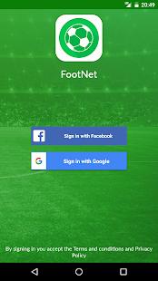 FootNet - náhled