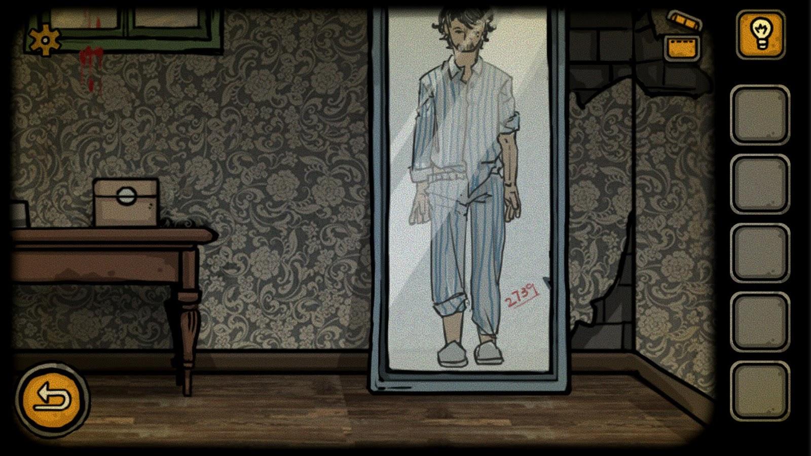 New Escape room:The lost paradise(Horror games)- screenshot