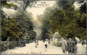 Photo: Parcul - Széchenyi-liget - 1909 -  sursa, postcards http://postcards.hungaricana.hu/hu/262267/